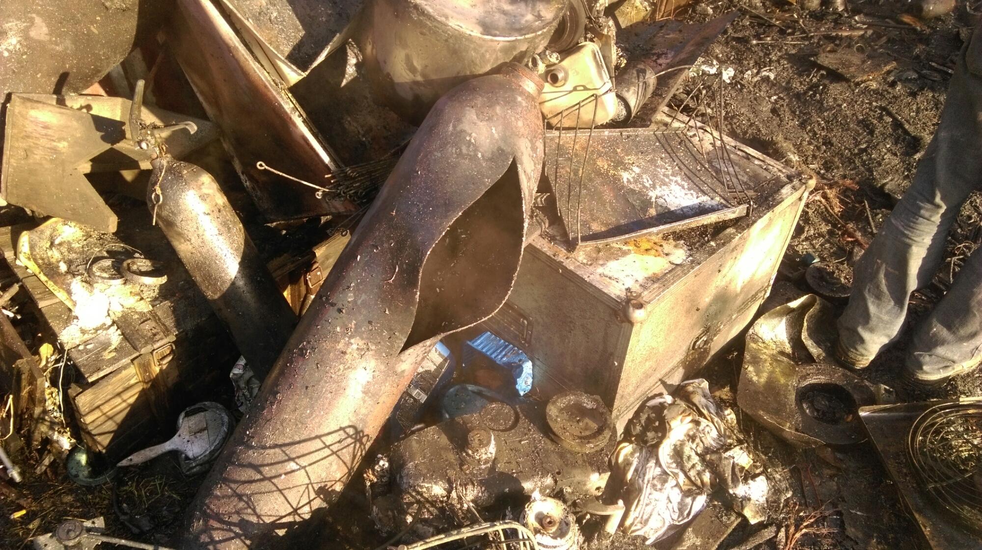 Pożar budynku gospodarczego ul. Okrzei Blizne Jasińskiego