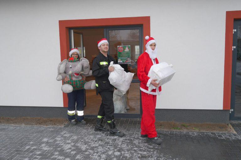 Zakończyliśmy Strażackie Pogotowie św. Mikołaja