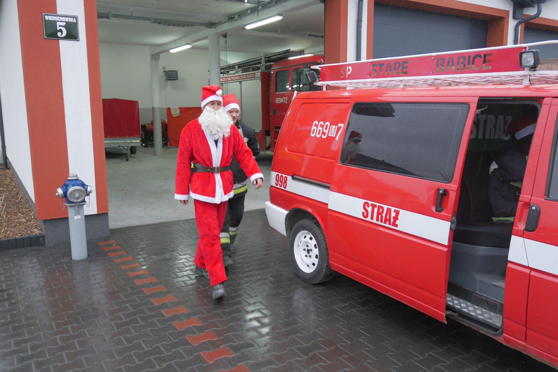 Życzenia na Święta Bożego Narodzenia od Babickich strażaków
