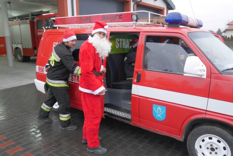 Zakończyliśmy Strażackie Pogotowie św.Mikołaja 2017