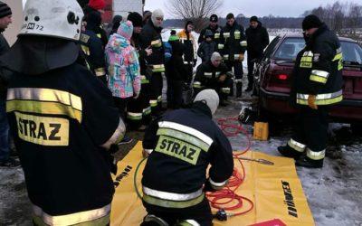 Wizyta w OSP Sokółka – szkolenie z ratownictwa technicznego