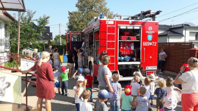 Wizyta Strażaków w Przedszkolu Tęcza
