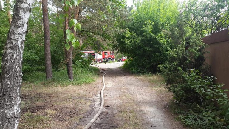 14 Maja 2018 – Strażackie manewry w Kampinoskim Parku Narodowym