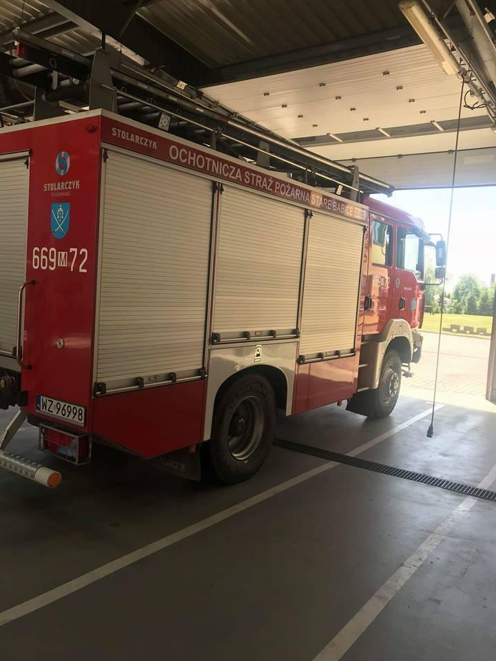 Wyjazd nr 6 – 18.01.2019 – Pożar komina –  gm Ożarów Mazowiecki