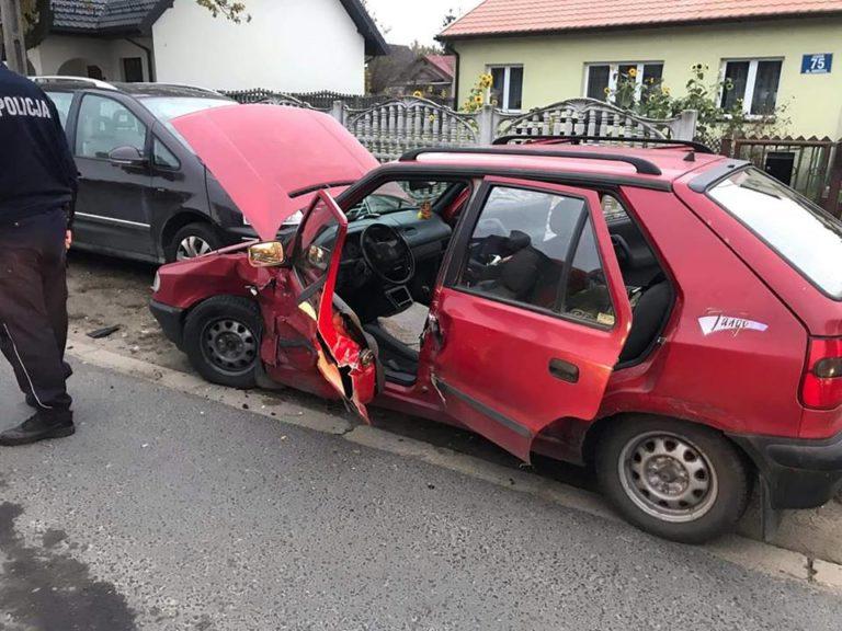 65. 22.10.2018 – Wypadek z udziałem trzech samochodów – Janów ul. Andersa