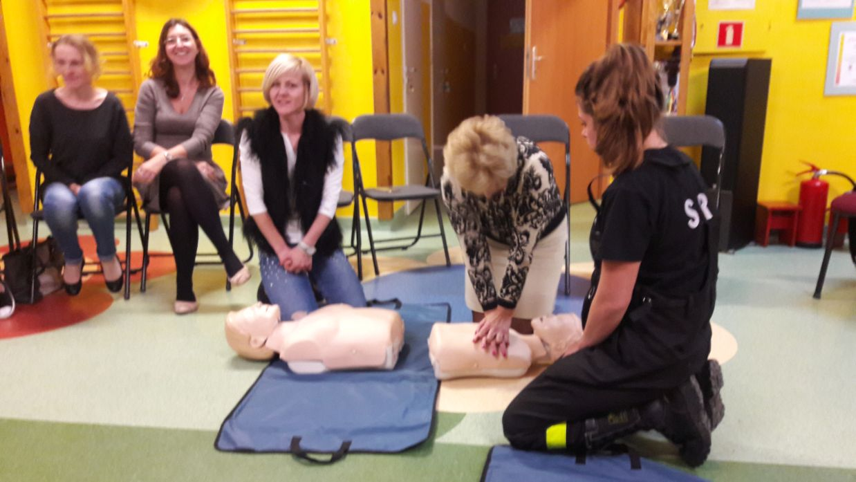 Pogadanka o zasadach pierwszej pomocy w przedszkolu gminnym