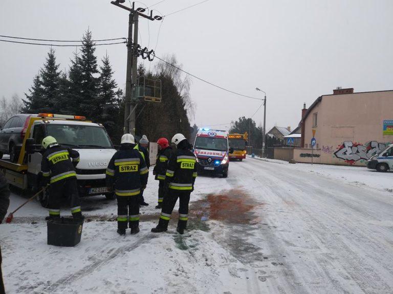 Wyjazd nr 4 – 08.01.2019 – Wypadek – Lipków, ul. Mościckiego gm Stare Babice