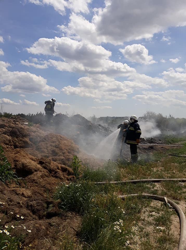 22 – 23 czerwca – Dwa pożary traw w Lubiczowie
