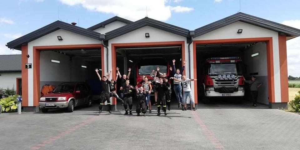 Ćwiczenia z Młodzieżową Drużyną Pożarniczą z jednostki OSP Sokółka w dniach 6-7 Lipca