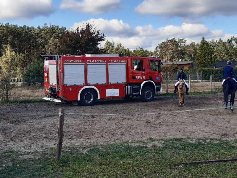 Zabezpieczenie zawodów KSJ w Koczargach