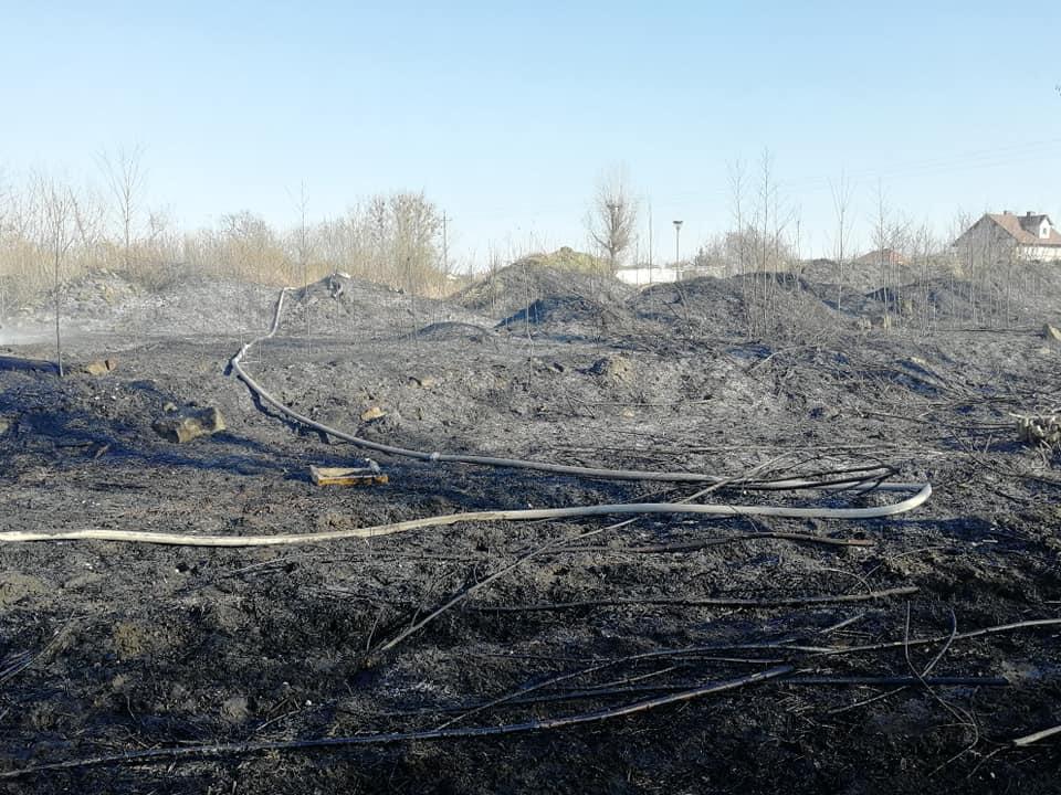 26.03.2020 – Pożar traw