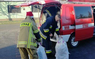 Strażacki Święty Mikołaj